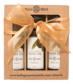 Extra Virgin Olive Oil Sampler Gift Set Shipper (3-Pack)