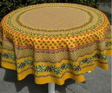 Le Cluny Tablecloth Round