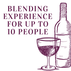 Blending Experience for up to 10 people