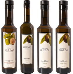 Customer Favorite - 500ML Olive Oil & White Dressing 4-Pack