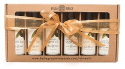 Extra Virgin Olive Oil Sampler Gift Set Shipper (6-Pack)